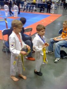 our start of Taekwondo 2 yrs ago